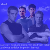 Marah Happy Birthday 12: Made this for her since she loves McShep and Jack/Daniel. I didn