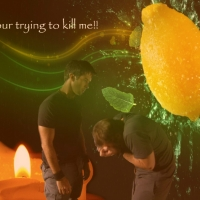 AnnO Challenge Wall 1 part 2: Image of Rodney and John is provided by AnnO Source background is from http://onlyhdwallpapers.com/art/abstract-fruits-digital-art-lemons-desktop-hd-wallpaper-1177938/