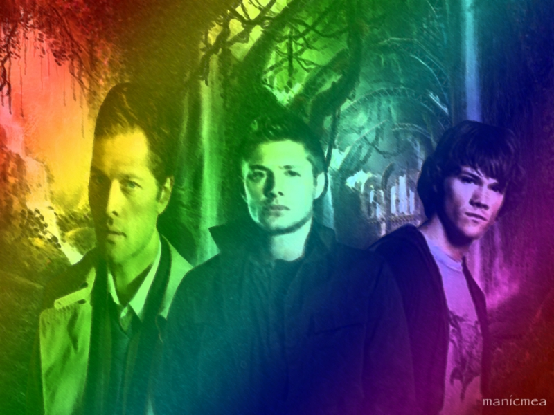 Colourful Supernatural: I made this for Kerry