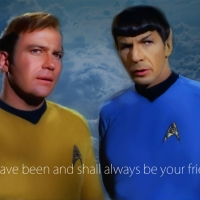 Always be your friend - Live long and prosper.