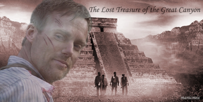 The lost treasure attacked